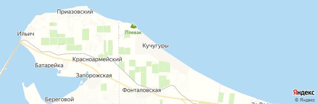 Кучугуры на карте