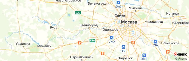Московская область на карте