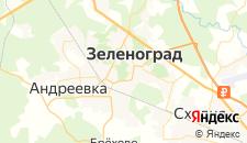Гостиницы города Зеленоград на карте