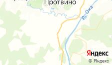 Гостиницы города Волковское на карте