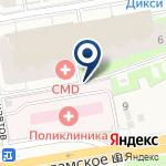 Компания IZUM на карте