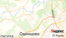 Гостиницы города Барвиха на карте