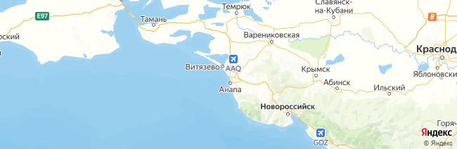 Большая Анапа на карте