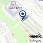 Компания Средняя общеобразовательная школа №1 на карте