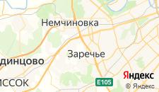 Гостиницы города Марфино на карте