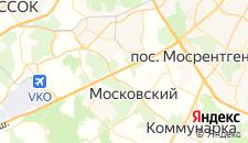 Гостиницы города Картмазово на карте