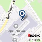 Компания Зареченская средняя общеобразовательная школа на карте