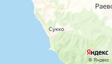 Гостиницы города Сукко на карте