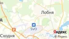 Гостиницы города Носово на карте