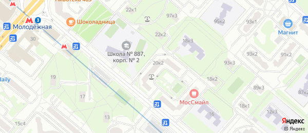 Анализы на станции метро Молодёжная в Lab4U
