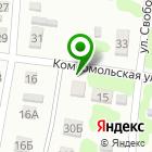 Местоположение компании ДВА КОЛЕСА