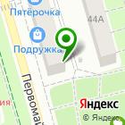 Местоположение компании Лягушонок