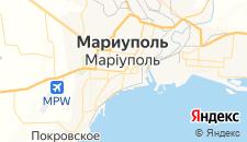 Гостиницы города Мариуполь на карте