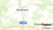 Гостиницы города Батюшково на карте