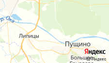 Гостиницы города Лужки на карте