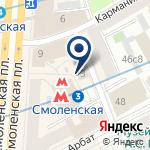 Компания TIME POST на карте