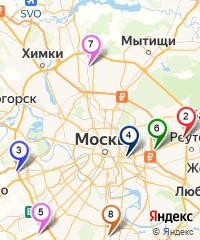 Карта магазинов