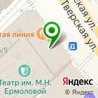 Местоположение компании Московский трезвый водитель