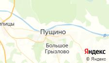 Гостиницы города Пущино на карте