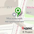 Местоположение компании Московский метрополитен, ГУП