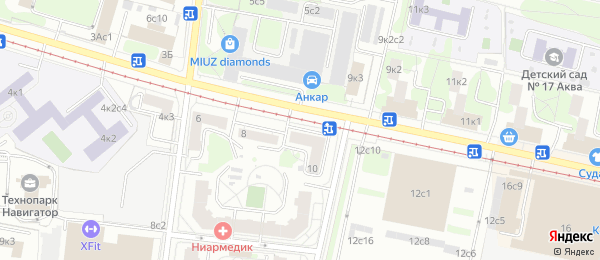 Анализы на станции метро Нагатинская в Lab4U