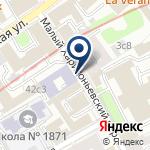 Компания Московское железнодорожное агентство на карте
