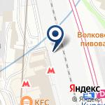 Компания Линейное управление МВД России на станции Москва-Курская на карте