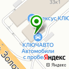Местоположение компании КЛЮЧАВТО