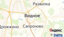 Гостиницы города Видное на карте