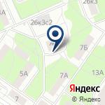 Компания Инженерная служба района Текстильщики, ГУ на карте