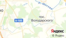 Гостиницы города Григорчиково на карте