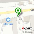 Местоположение компании Магазин продуктов