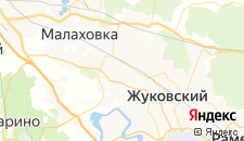 Гостиницы города Быково на карте