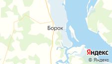 Гостиницы города Борок на карте