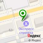 Местоположение компании Магазин одежды на Октябрьской