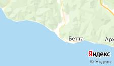Гостиницы города Криница на карте