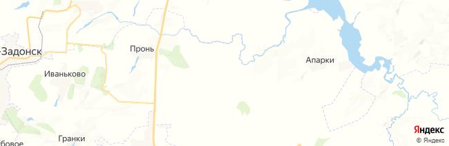 Куликово Поле на карте