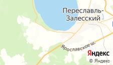 Гостиницы города Веськово на карте