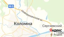 Гостиницы города Амерево на карте
