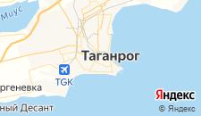 Гостиницы города Таганрог на карте