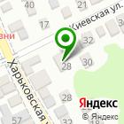 Местоположение компании Контакт Лайн