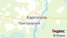 Гостиницы города Каргополь на карте