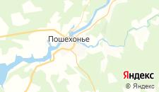 Гостиницы города Пошехонье на карте