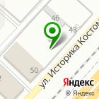 Местоположение компании ЖБИ Кантемиров