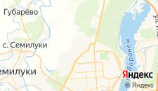 Гостиницы города Подгорное на карте