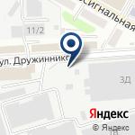 Компания АртМонтажГрупп на карте