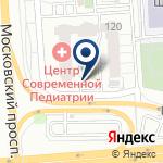 Компания Центр современной педиатрии на карте