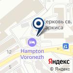 Компания Мэри Кей Воронеж на карте