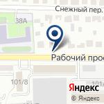 Компания ВИССОН на карте