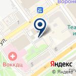 Компания Клиника Эксперт Воронеж на карте